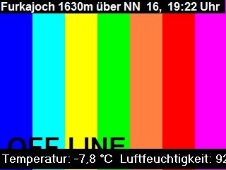 Damüls/Laterns, Furkajoch 1.630 m Richtung Rheintal